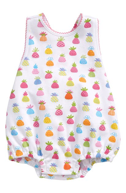 Kissy Kissy Cottons PINEAPPLE ISLAND BUBBLE BODYSUIT