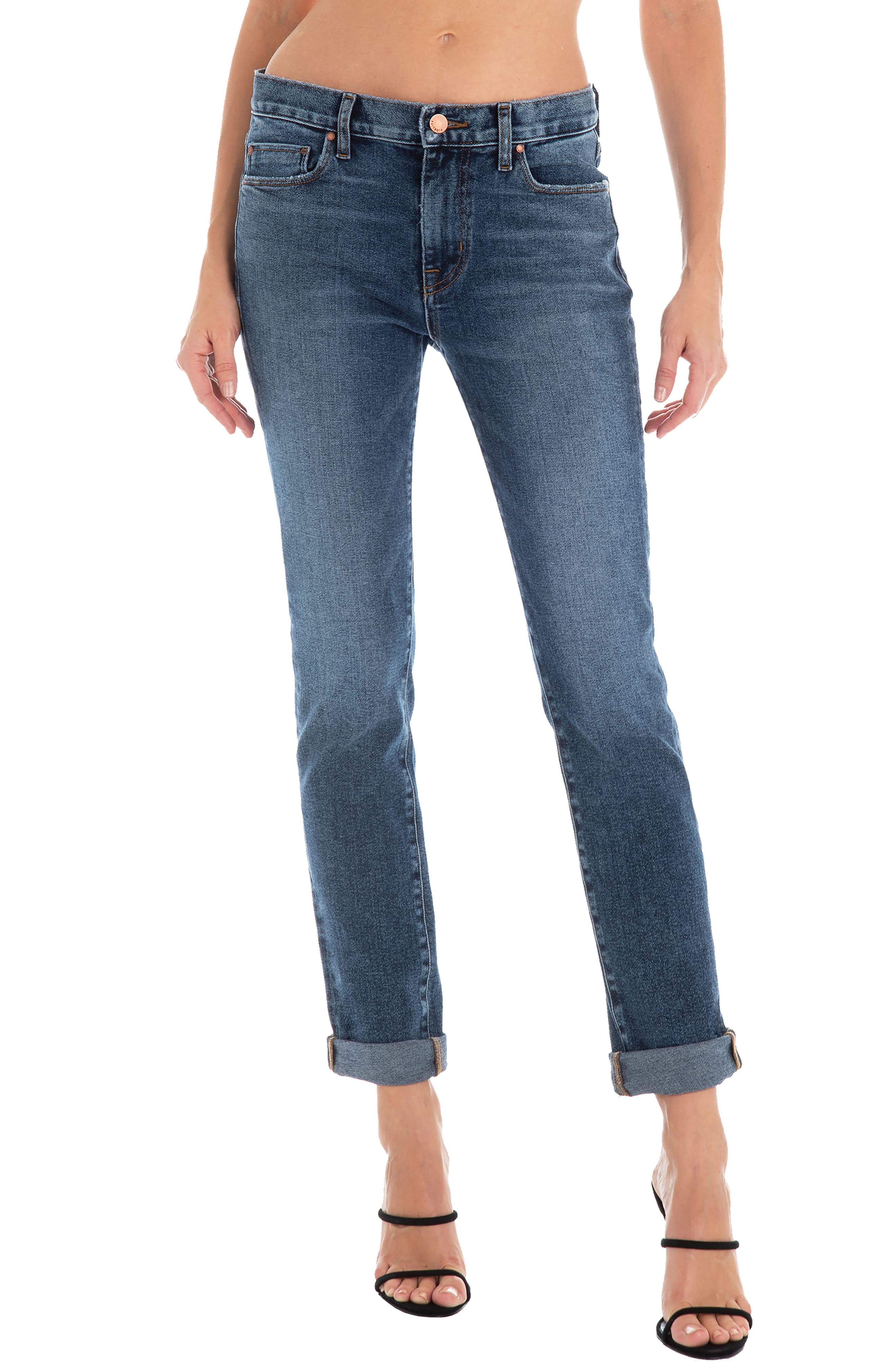 Fidelity Denim Oh Boy High Waist Boyfriend Jeans (All Star)