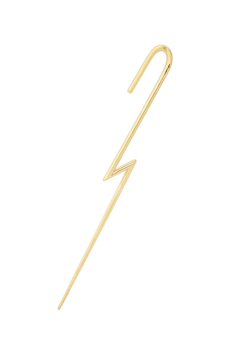 KATKIM The Flash Ear Wire, Main, color, 18K YELLOW GOLD