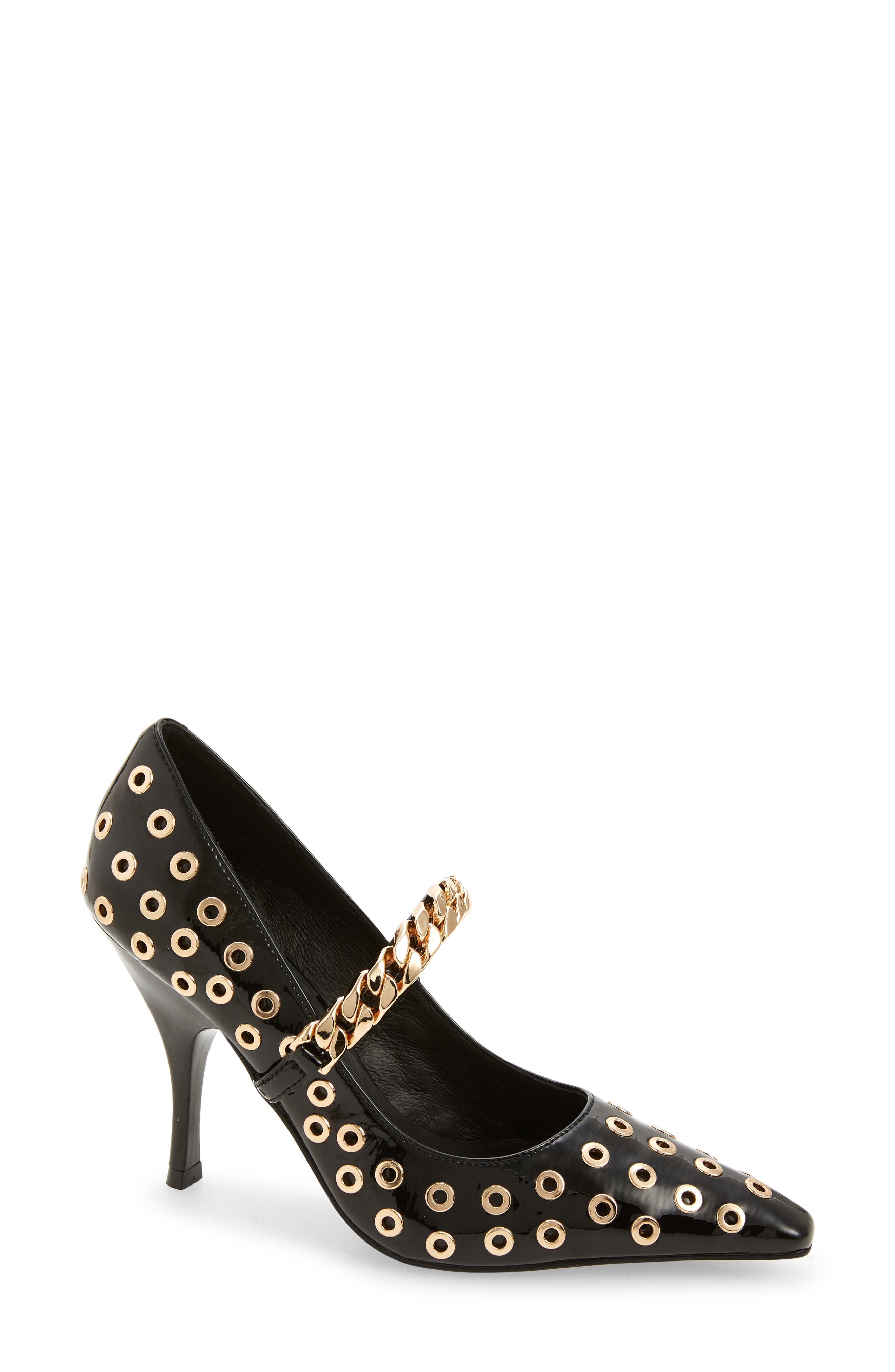 Hot Stuff Mary Jane Pointed Toe Pump