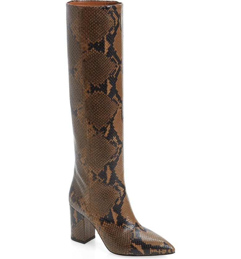 Paris Texas Python Embossed Knee High Boots Women Nordstrom