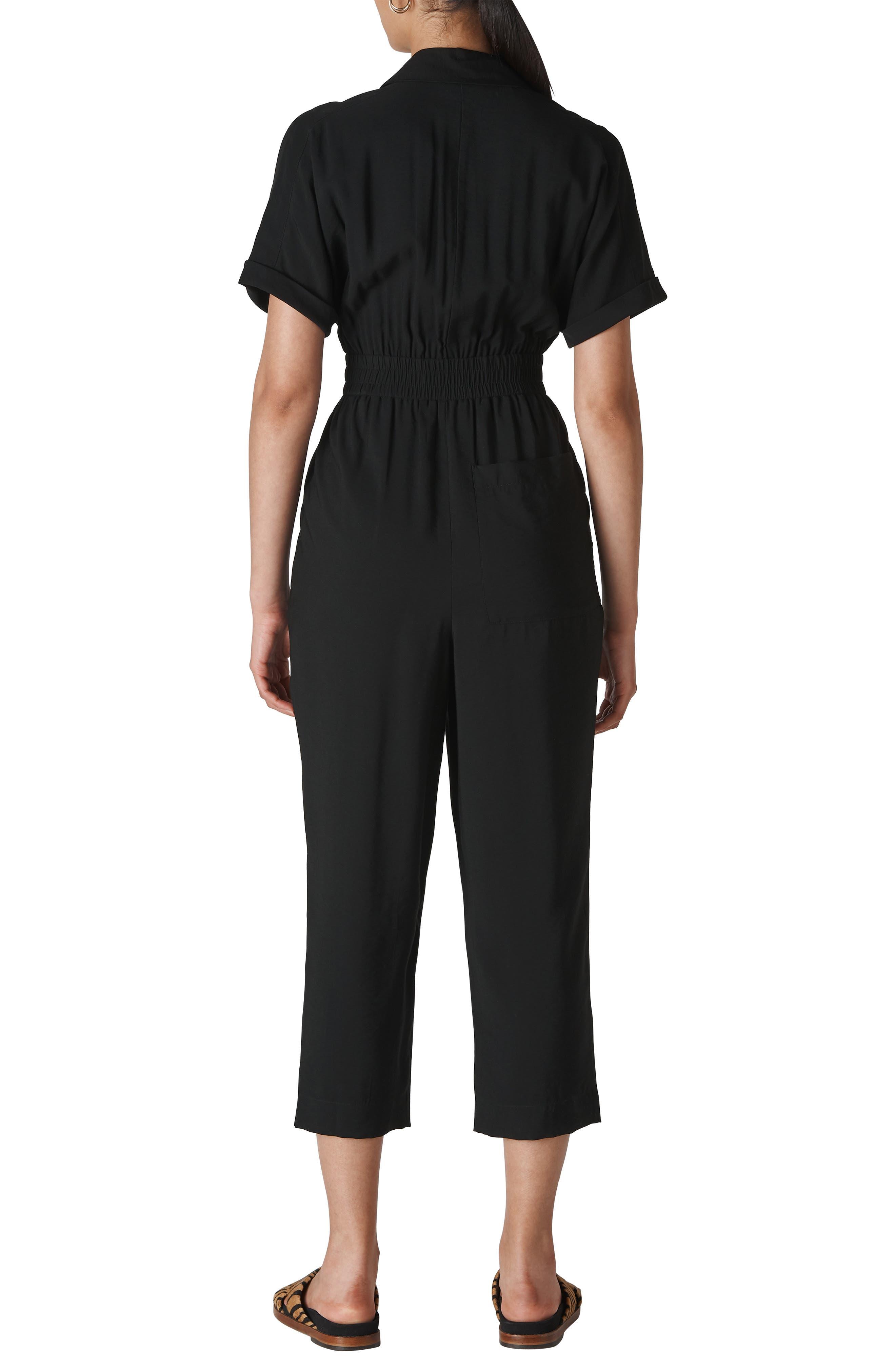Whistles Suits Lidia Crop Jumpsuit