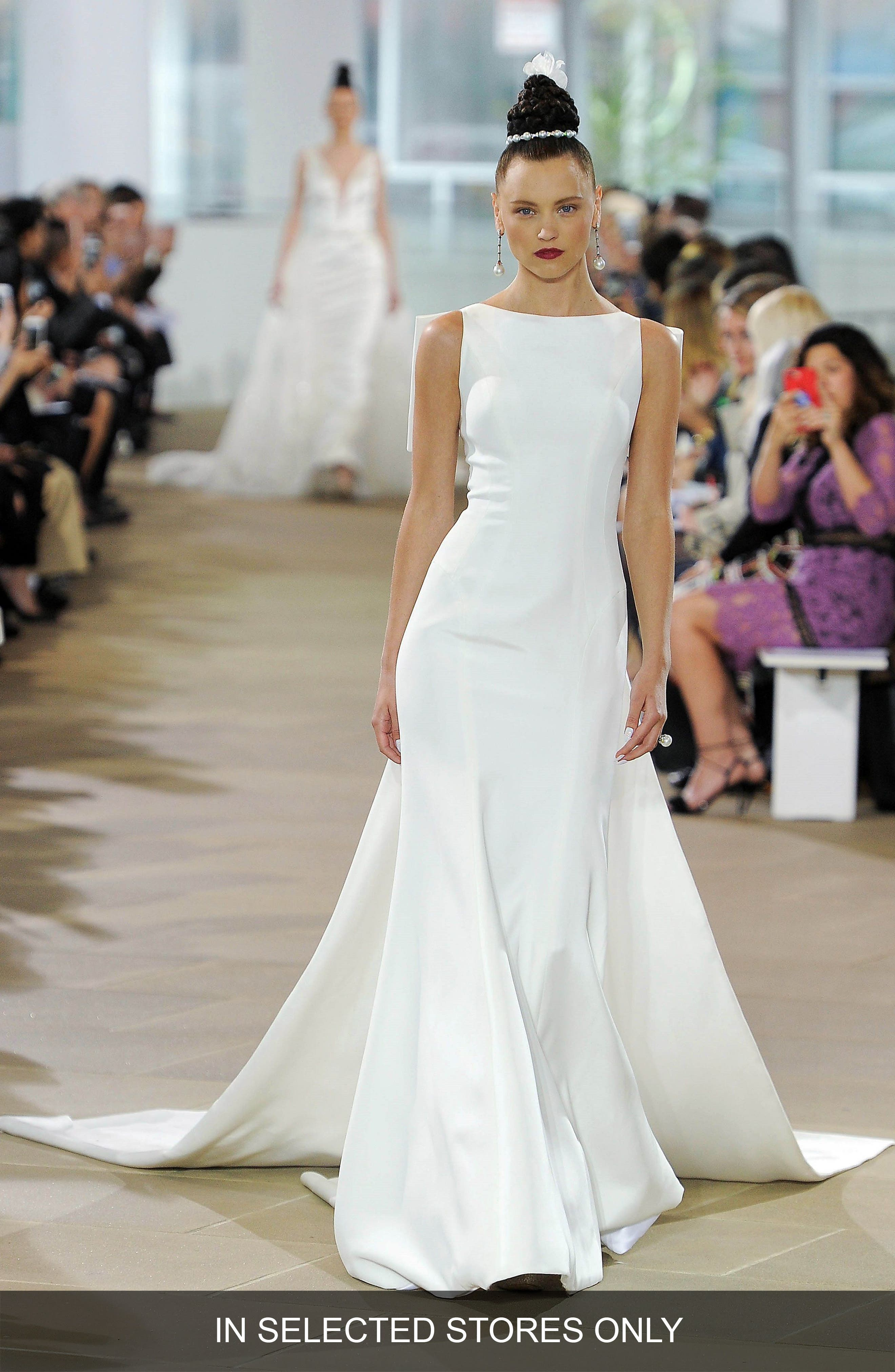 Ines Di Santo Promise Silk Satin Gown, Size IN STORE ONLY - Ivory