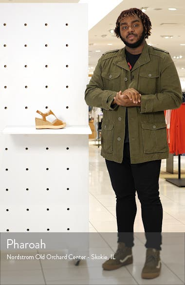Mojacar Scalloped Wedge Sandal, sales video thumbnail