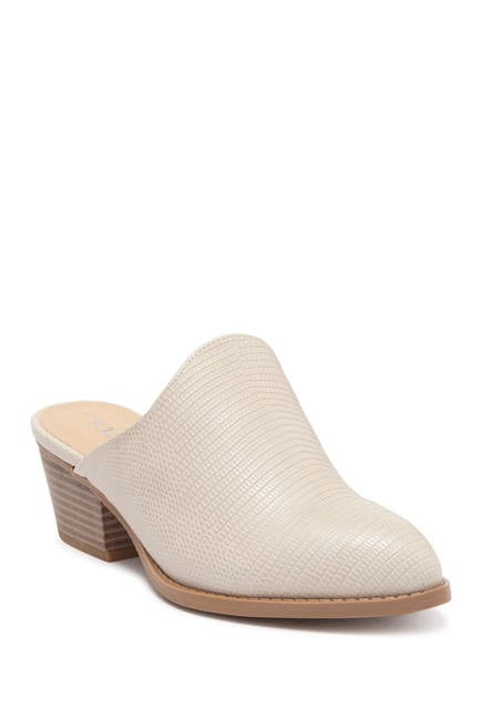 Image of CL by Laundry Catherin Lizard Embossed Mule