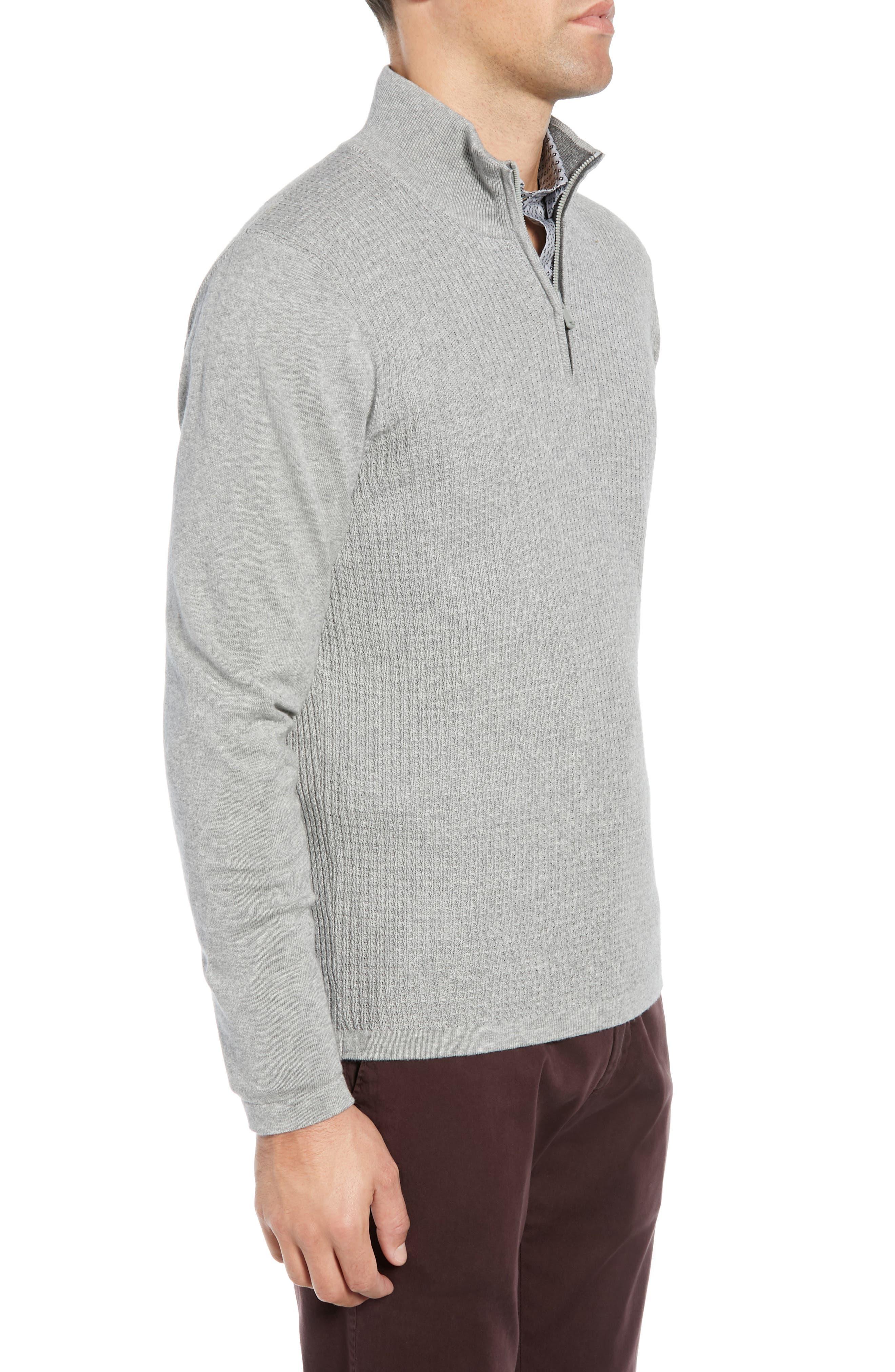 ,                             Higgins Quarter Zip Sweater,                             Alternate thumbnail 3, color,                             020