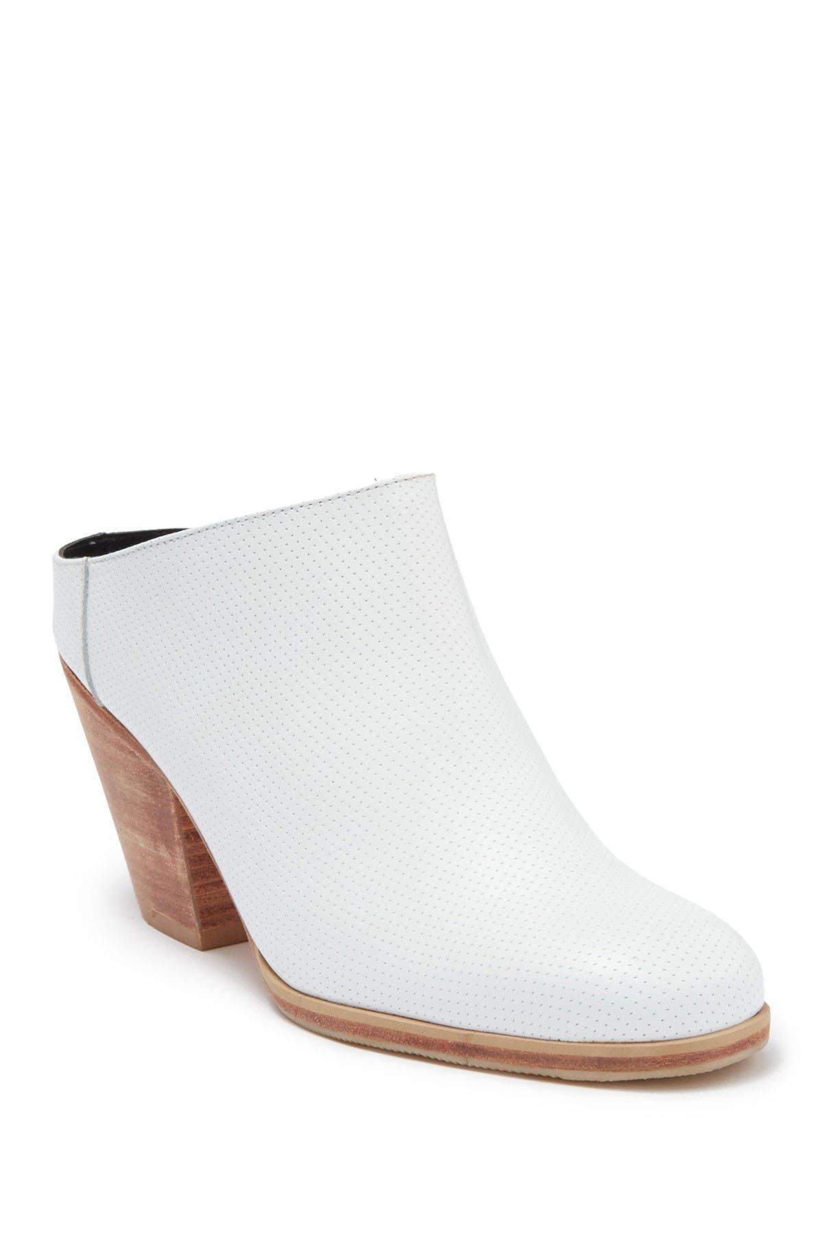 Image of RACHEL COMEY Mars Leather Block Heel Mule
