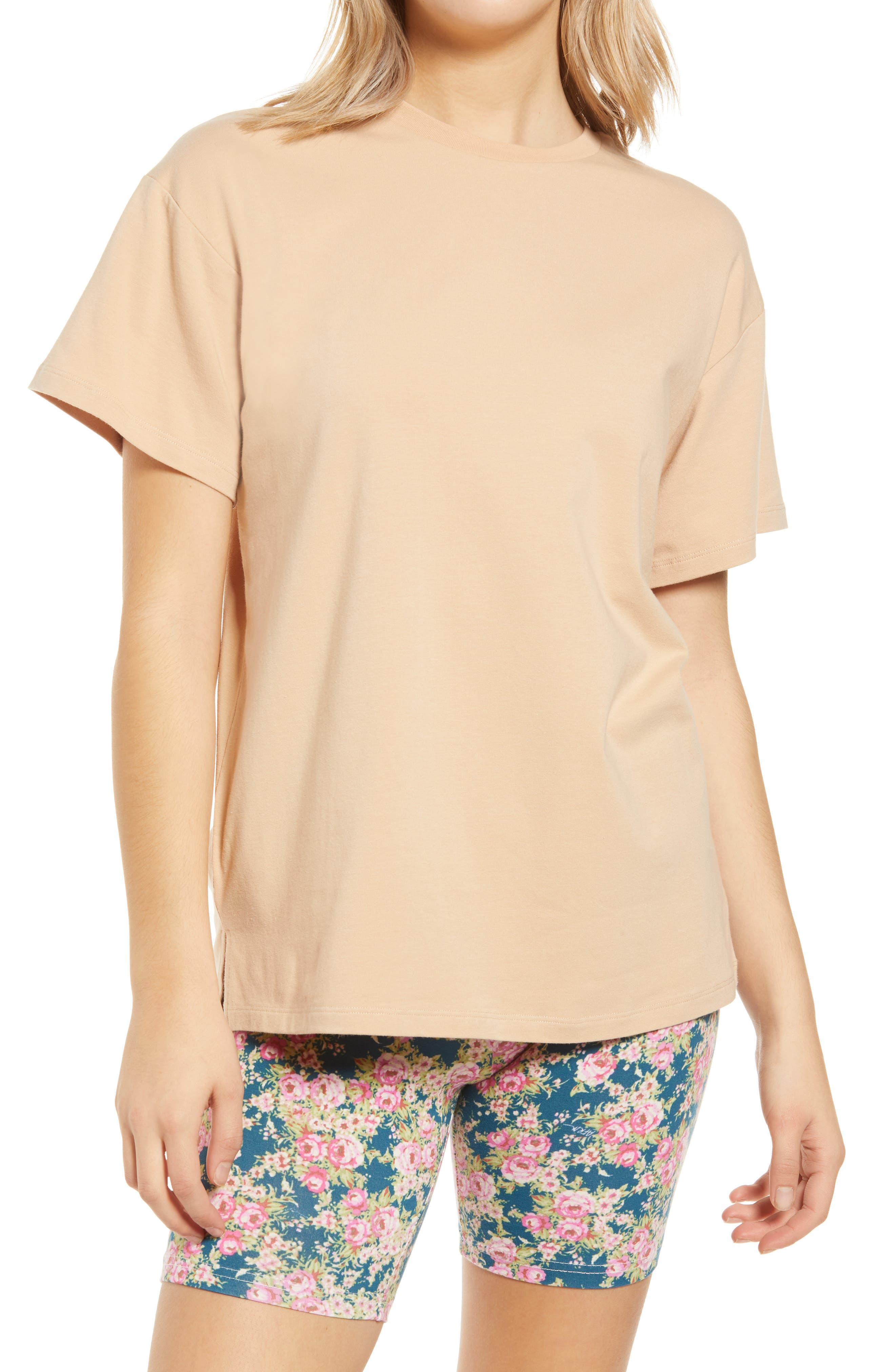 Bacio Oversize Tunic T-Shirt