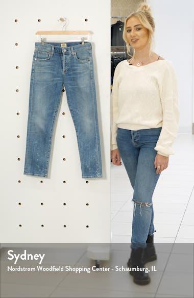 Emerson Crop Boyfriend Jeans, sales video thumbnail