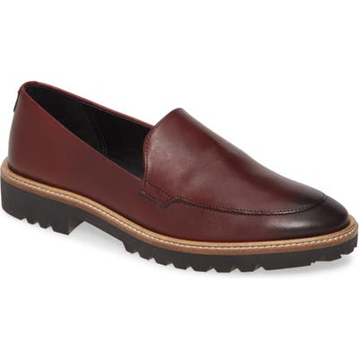 Ecco Incise Tailored Loafer, Burgundy