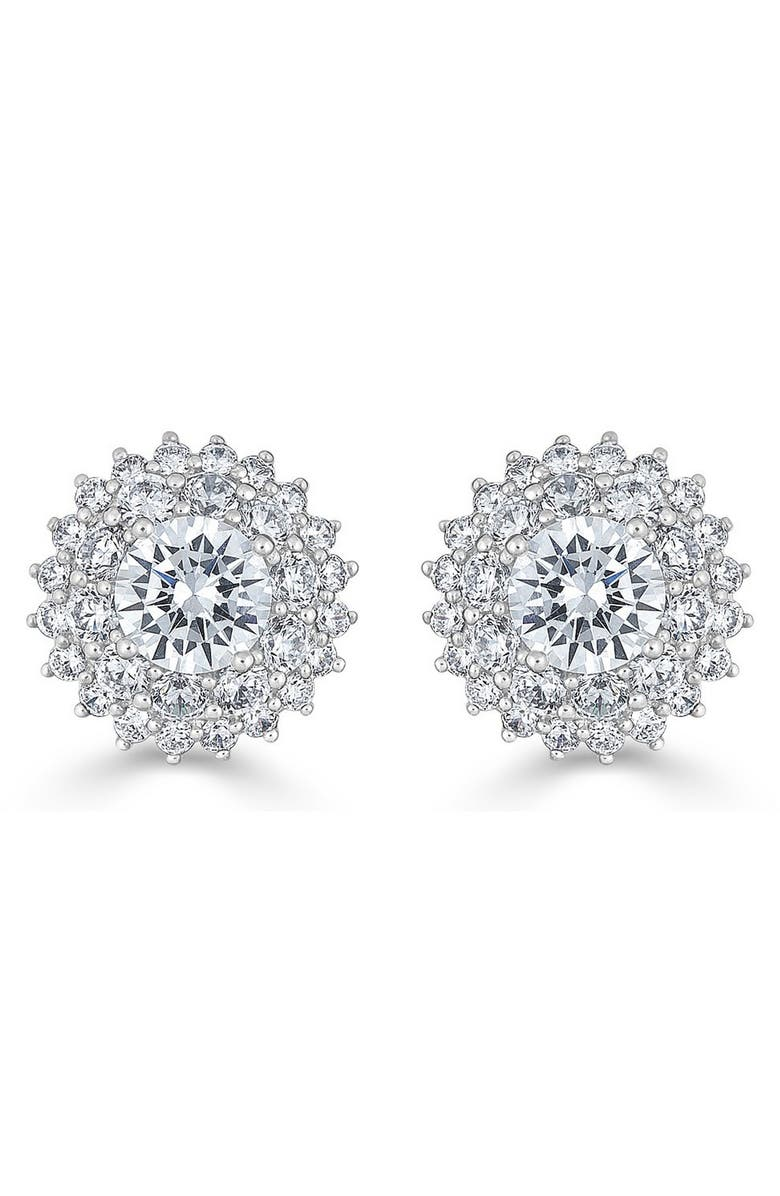 THOMAS LAINE Karolyne Classic Round Cluster Earrings, Main, color, 650
