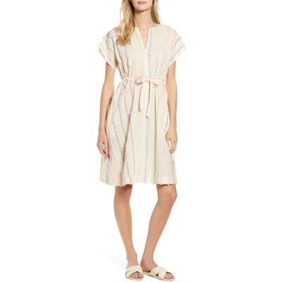 Lou & Grey Fringe Swing Dress, White