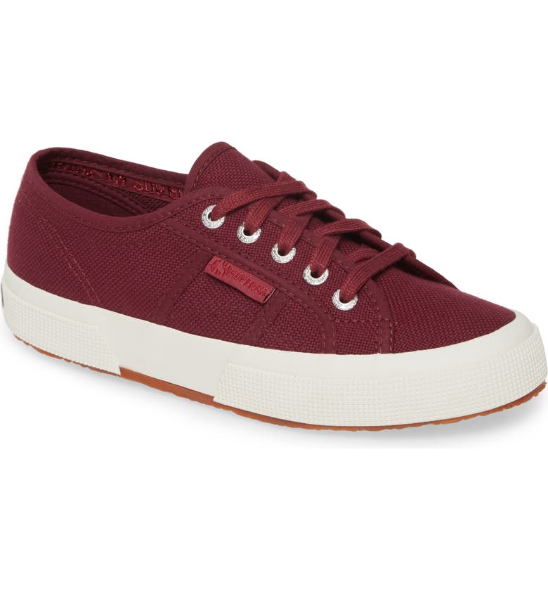 SUPERGA 'Cotu' Sneaker, Main, color, VIOLET PRUNE
