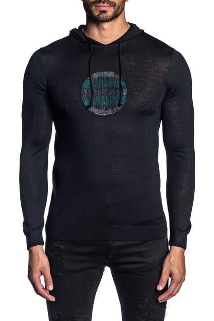Image of Jared Lang Knit Pullover Hoodie