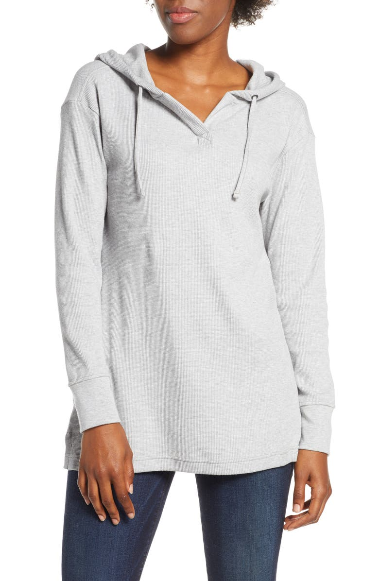 PATAGONIA Hooded Waffle Tunic, Main, color, 020