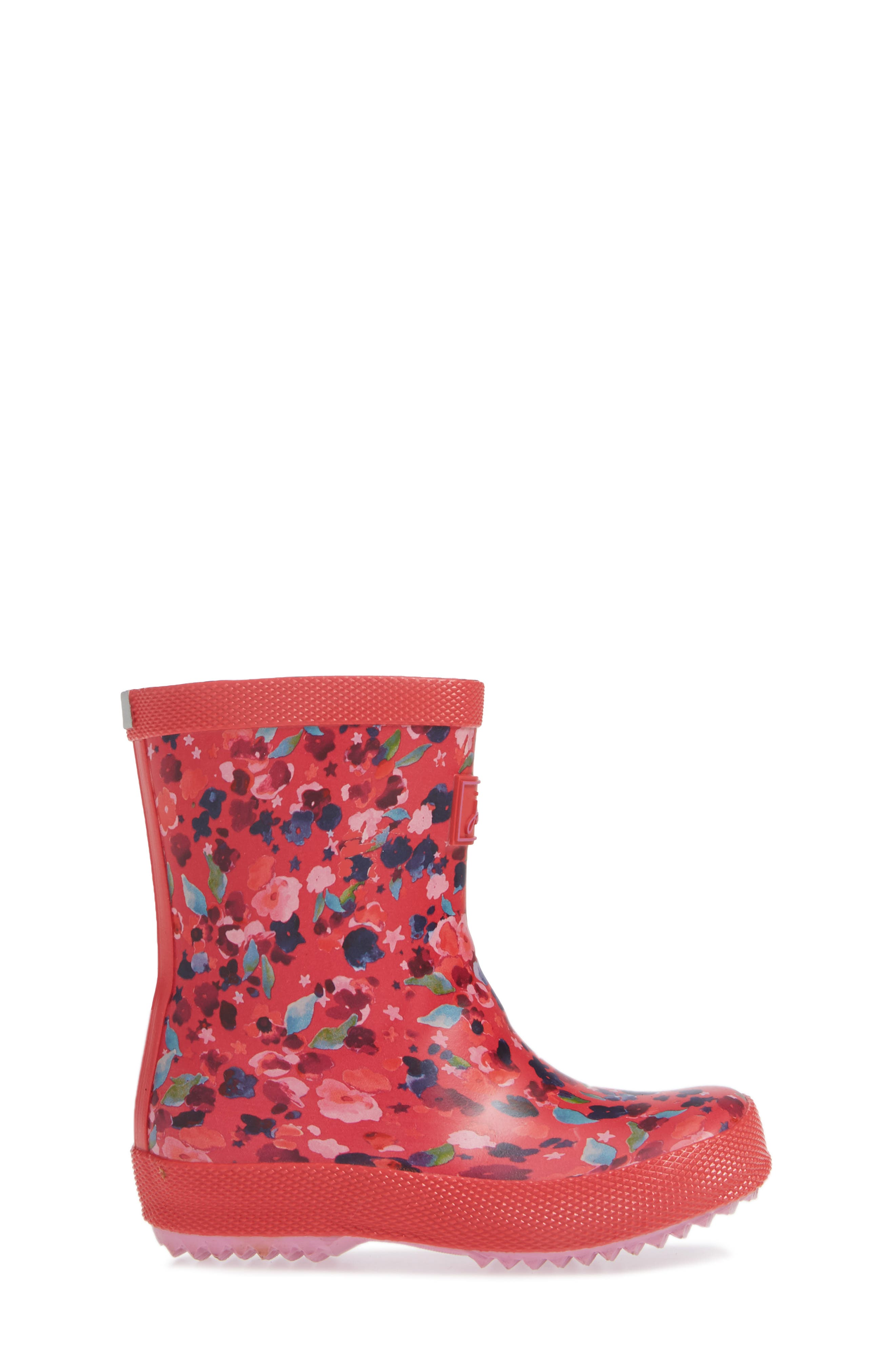 ,                             Baby Welly Print Waterproof Boot,                             Alternate thumbnail 30, color,                             659