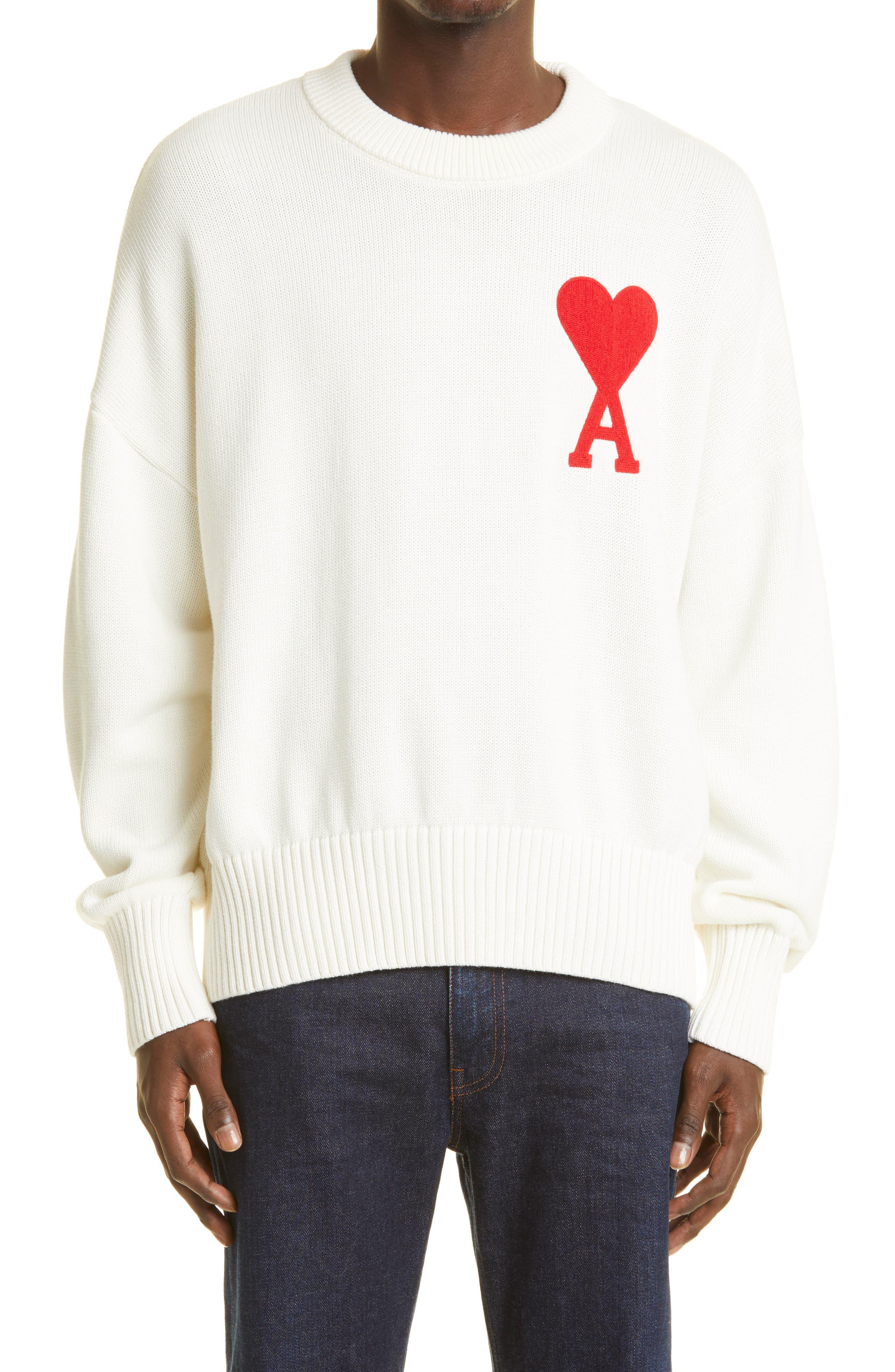 Ami De Coeur Embroidered Sweater