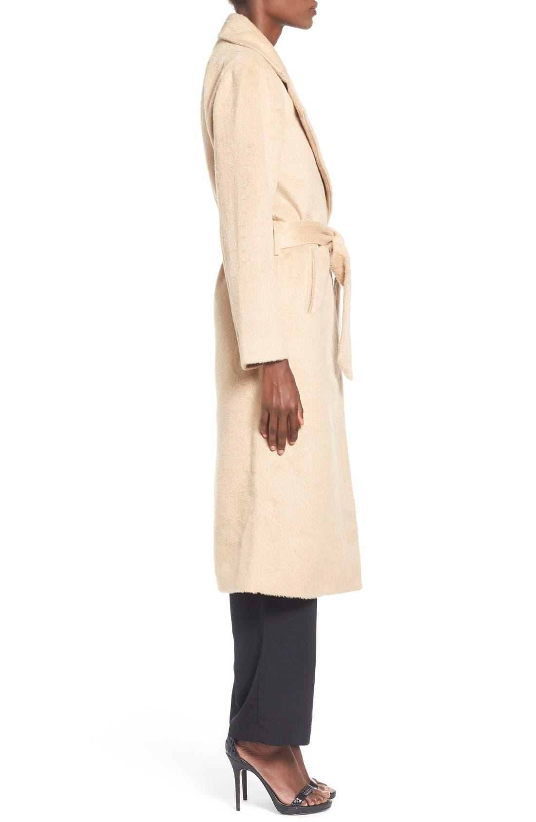 ,                             Belted Wrap Coat,                             Alternate thumbnail 2, color,                             250