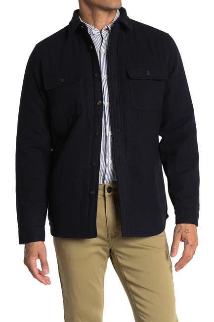 Image of Gilded Age Melton Wool Blend Shirt Jacket