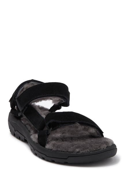 Image of Teva Hurricane Genuine Shearling Lined Sandal