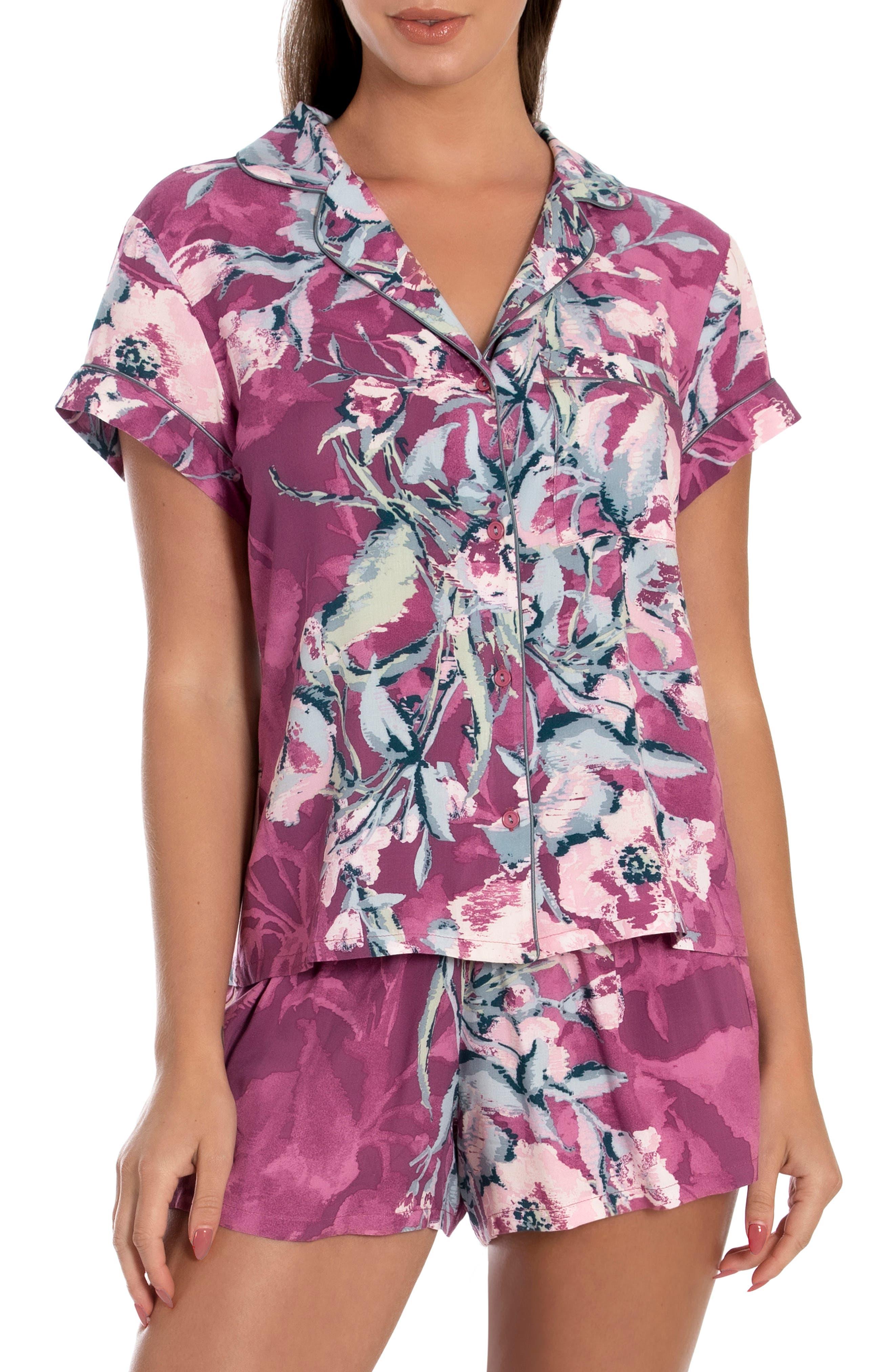 Floral Print Short Pajamas
