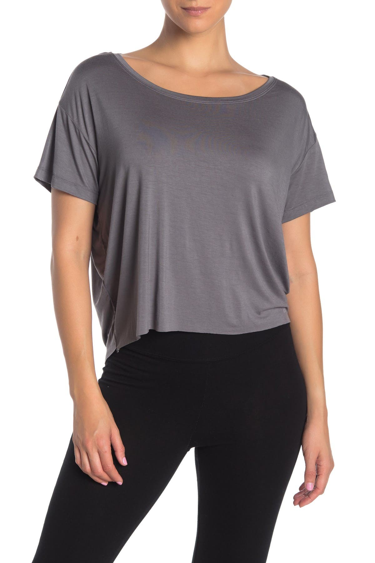 Image of ARX LAB Boatneck Knit T-Shirt