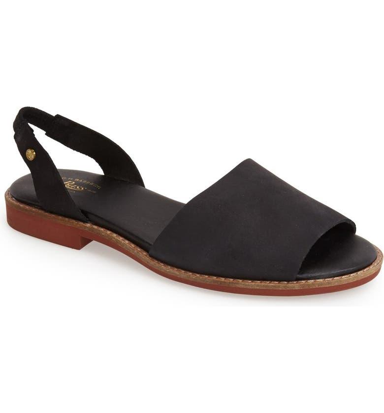 3c02e8b9b17eb 'Erika' Slingback Leather Sandal