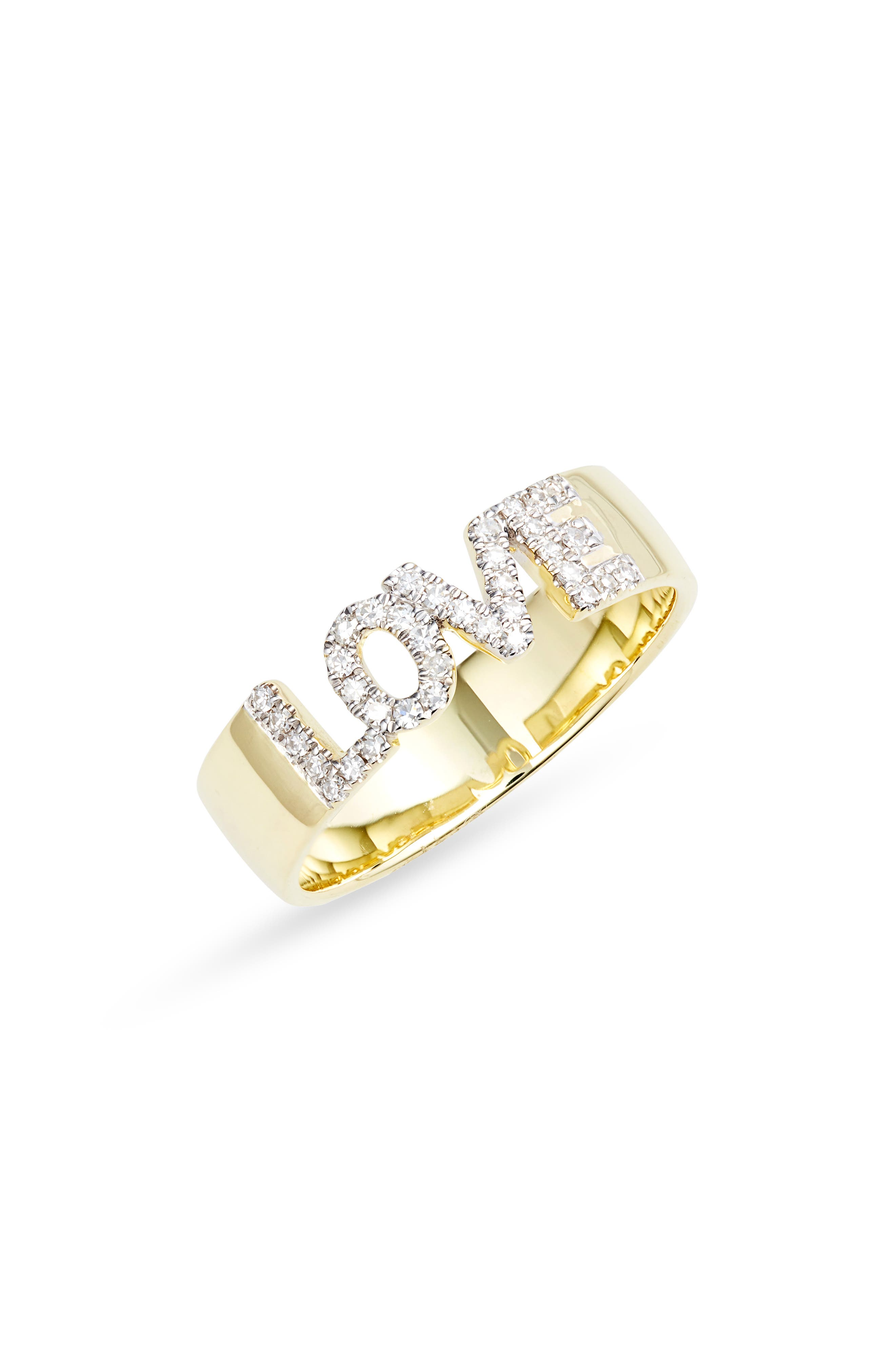 Women's Meira T Love Band Ring