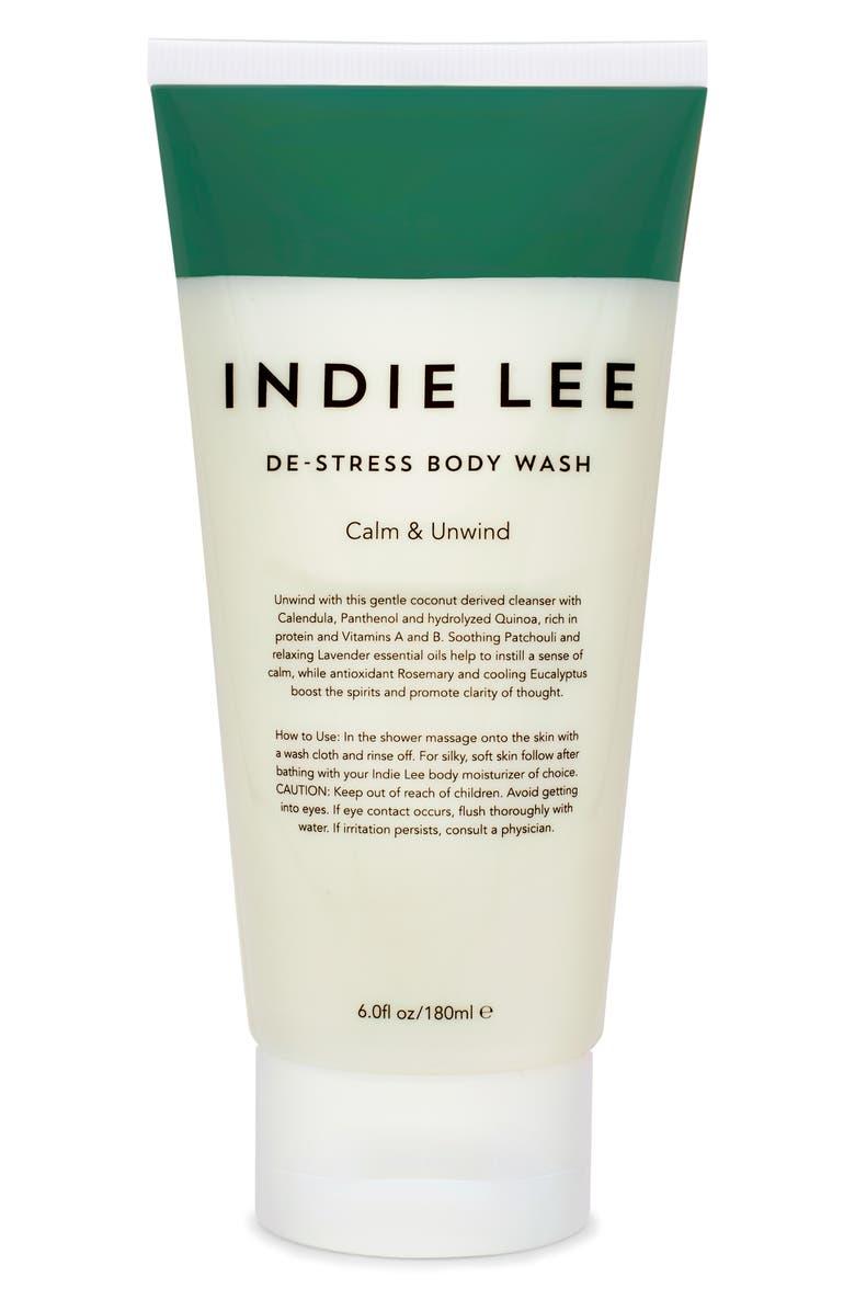 INDIE LEE De-Stress Body Wash, Main, color, NO COLOR