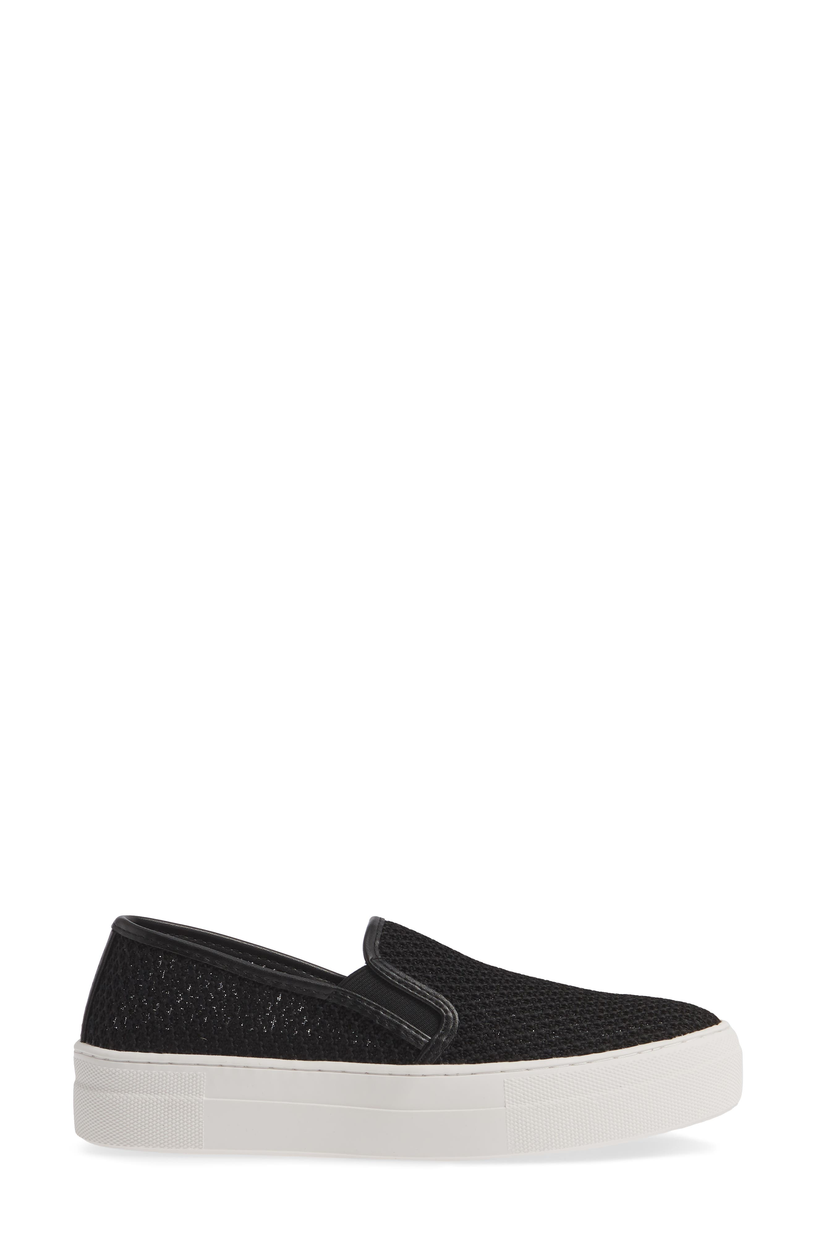 ,                             Gills-M Mesh Slip-On Sneaker,                             Alternate thumbnail 3, color,                             BLACK