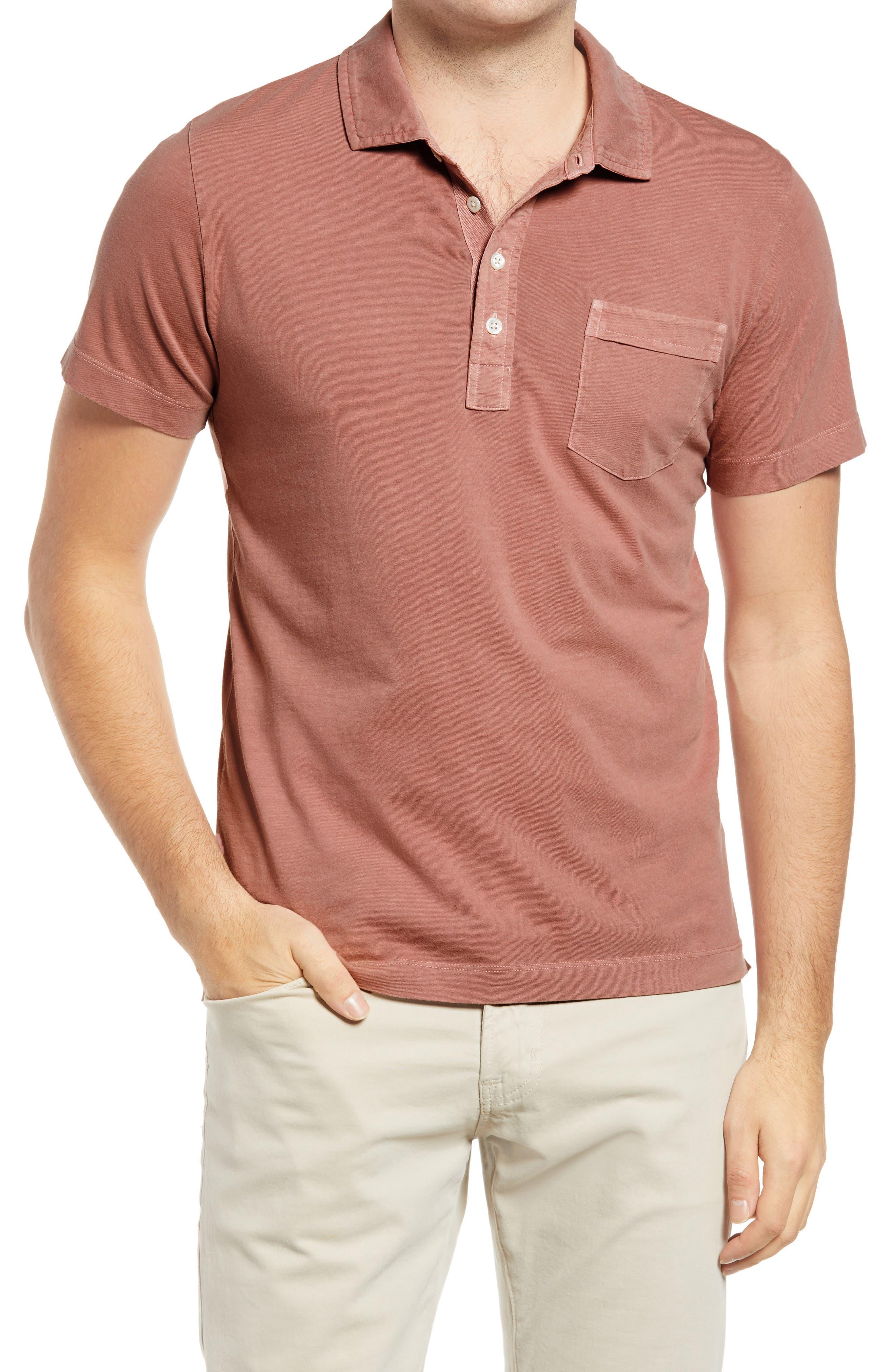 Pensacola Solid Cotton Polo Shirt