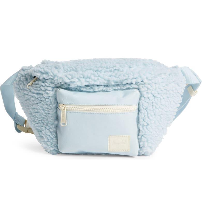 HERSCHEL SUPPLY CO. Seventeen Belt Bag, Main, color, BABY BLUE