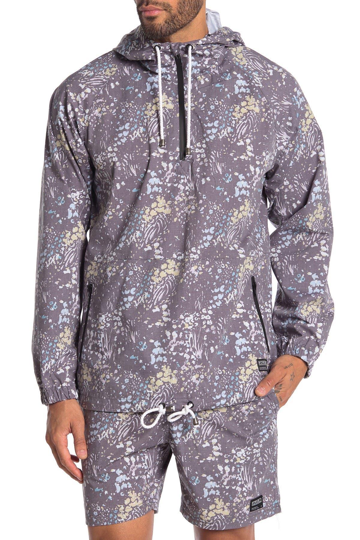 Image of Ezekiel Panther Quarter Zip Hooded Jacket