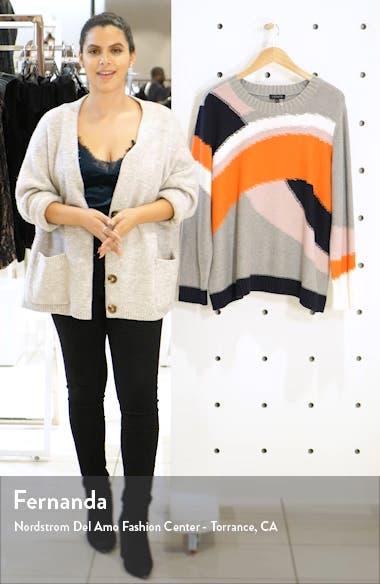 Colorblock Cotton Sweater, sales video thumbnail