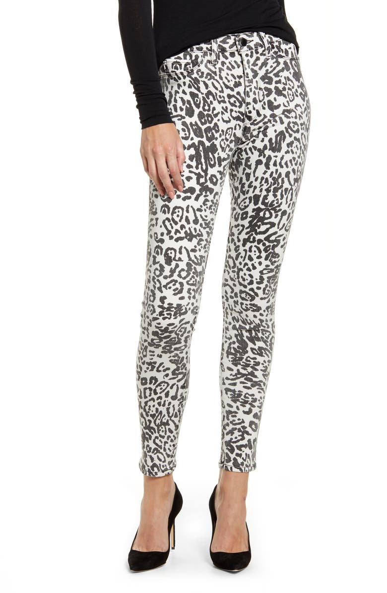 HUDSON JEANS Barbara High Waist Super Skinny Jeans, Main, color, 109