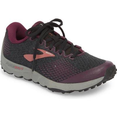 Brooks Puregrit 7 Trail Running Shoe B - Black