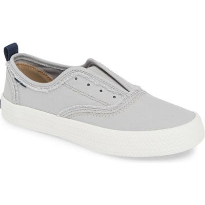 Sperry Crest Rope Laceless Sneaker, Grey