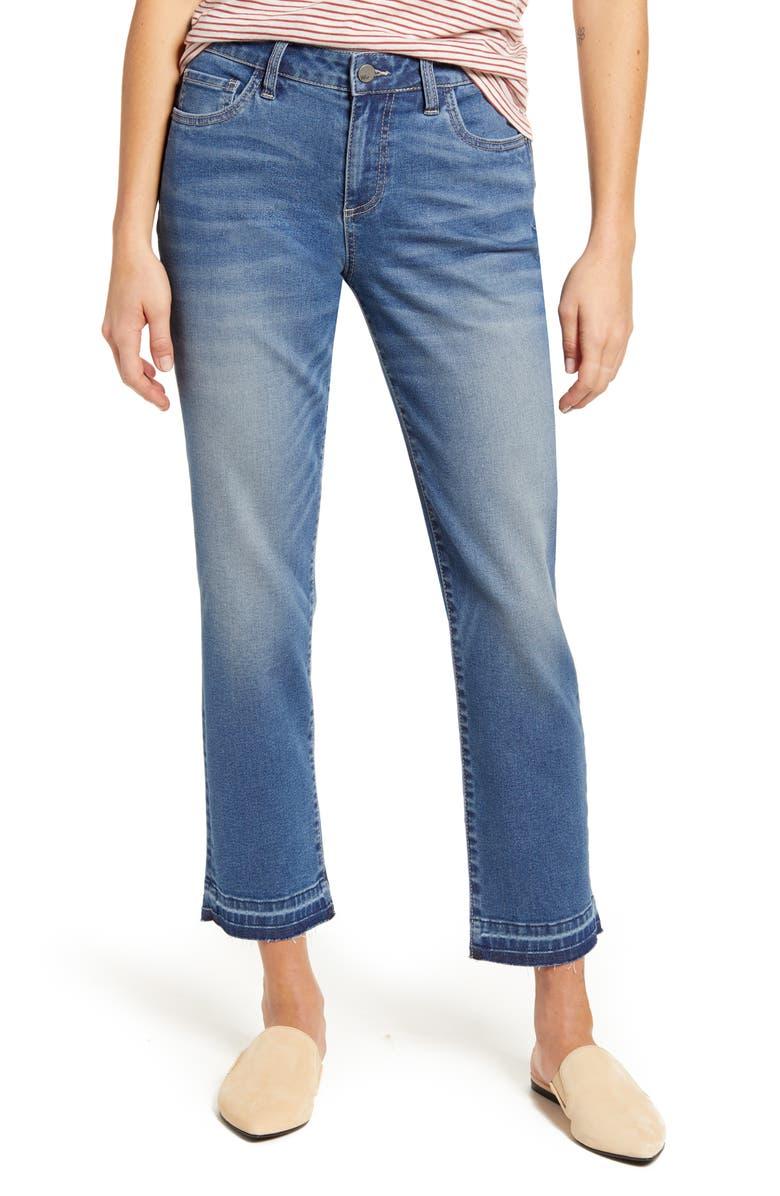WASH LAB Ankle Boyfriend Jeans, Main, color, VENICE