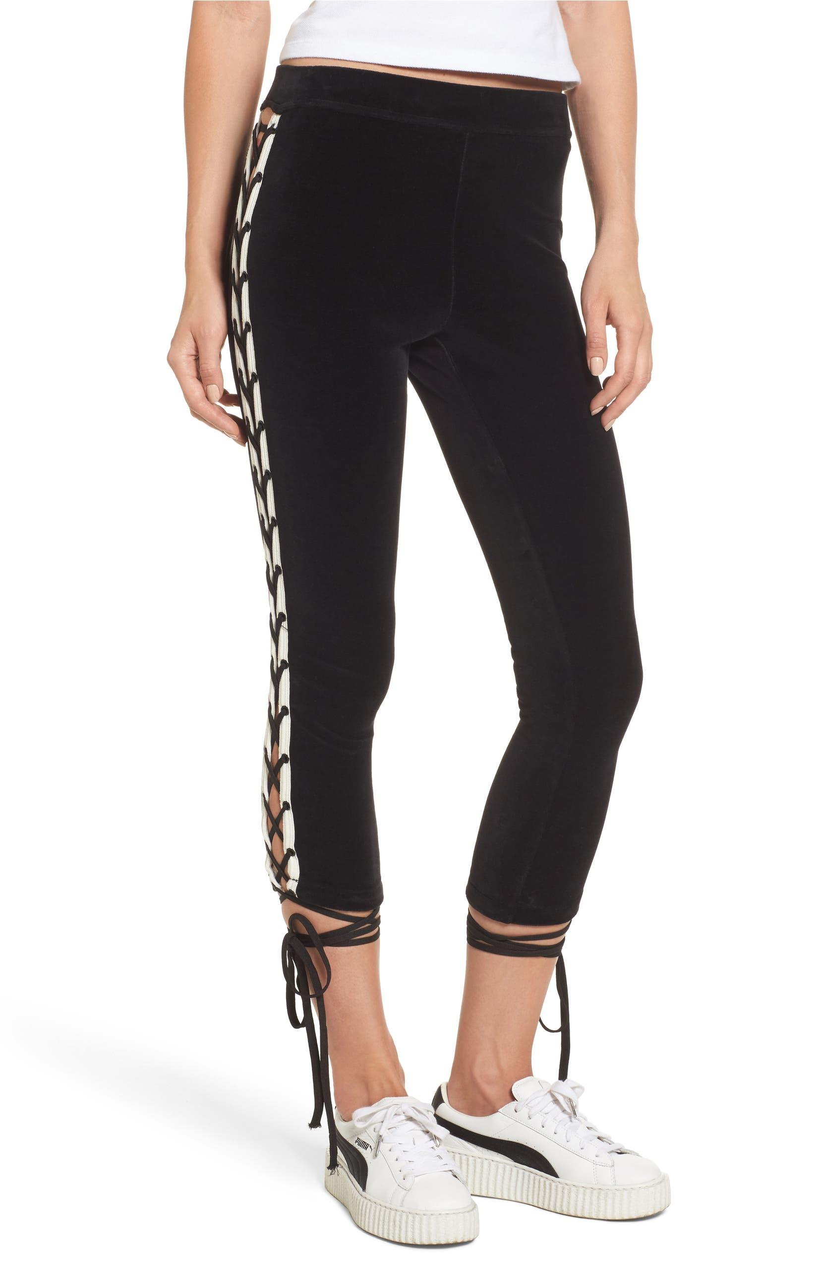 8a1015672c4 PUMA by Rihanna Lace-Up Jogger Pants
