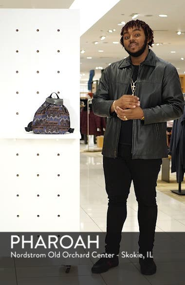 Le Pliage Ikat Backpack, sales video thumbnail