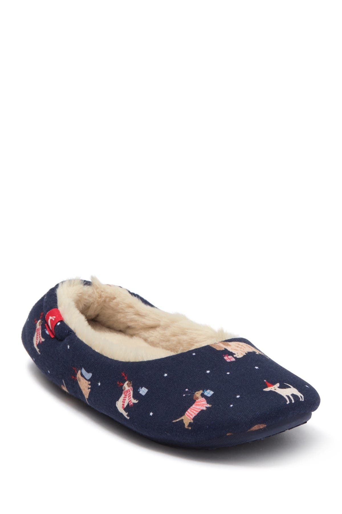 Image of Joules Dream Well Faux Fur Slippers