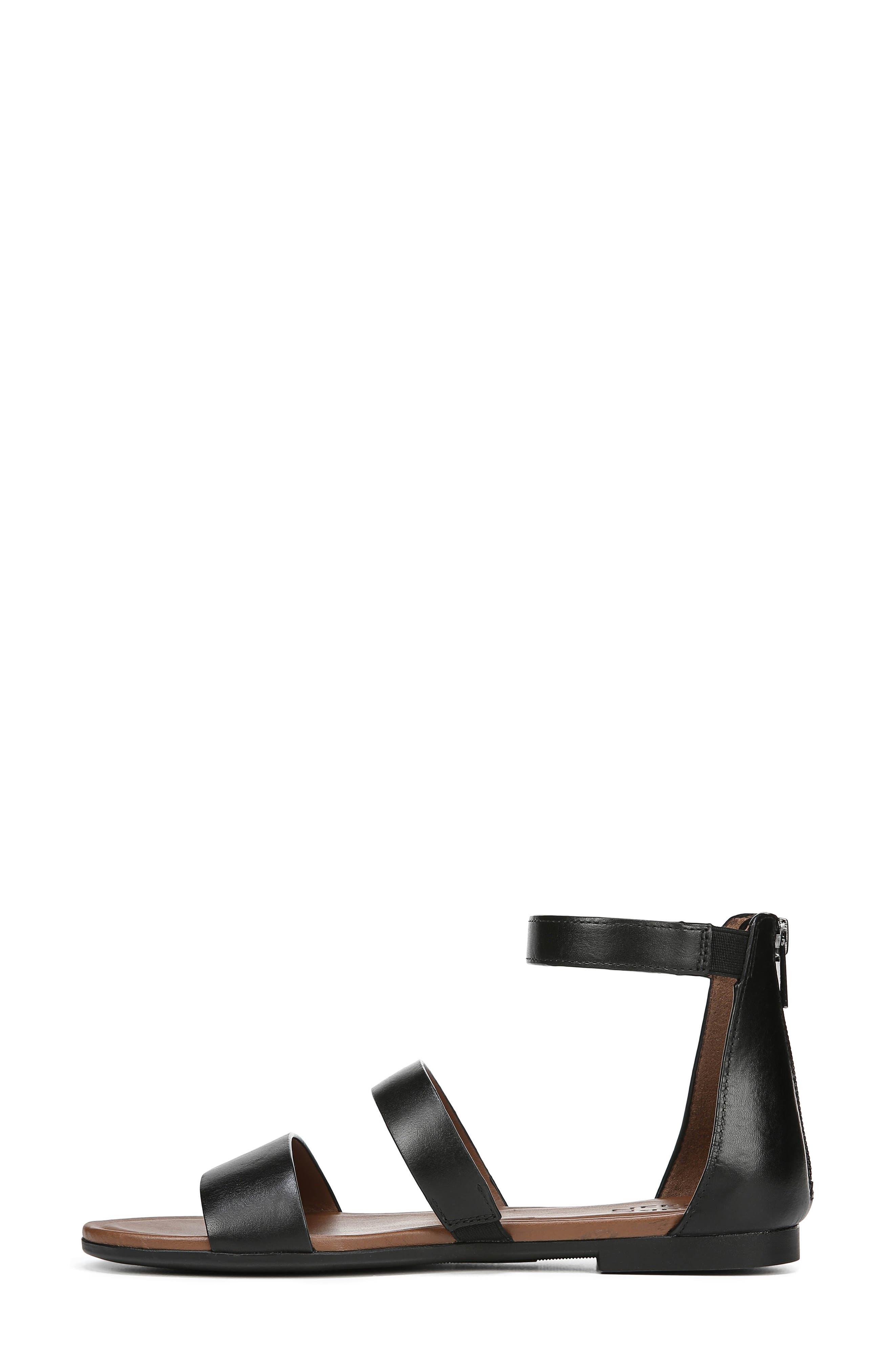 ,                             Tish Sandal,                             Alternate thumbnail 9, color,                             BLACK LEATHER