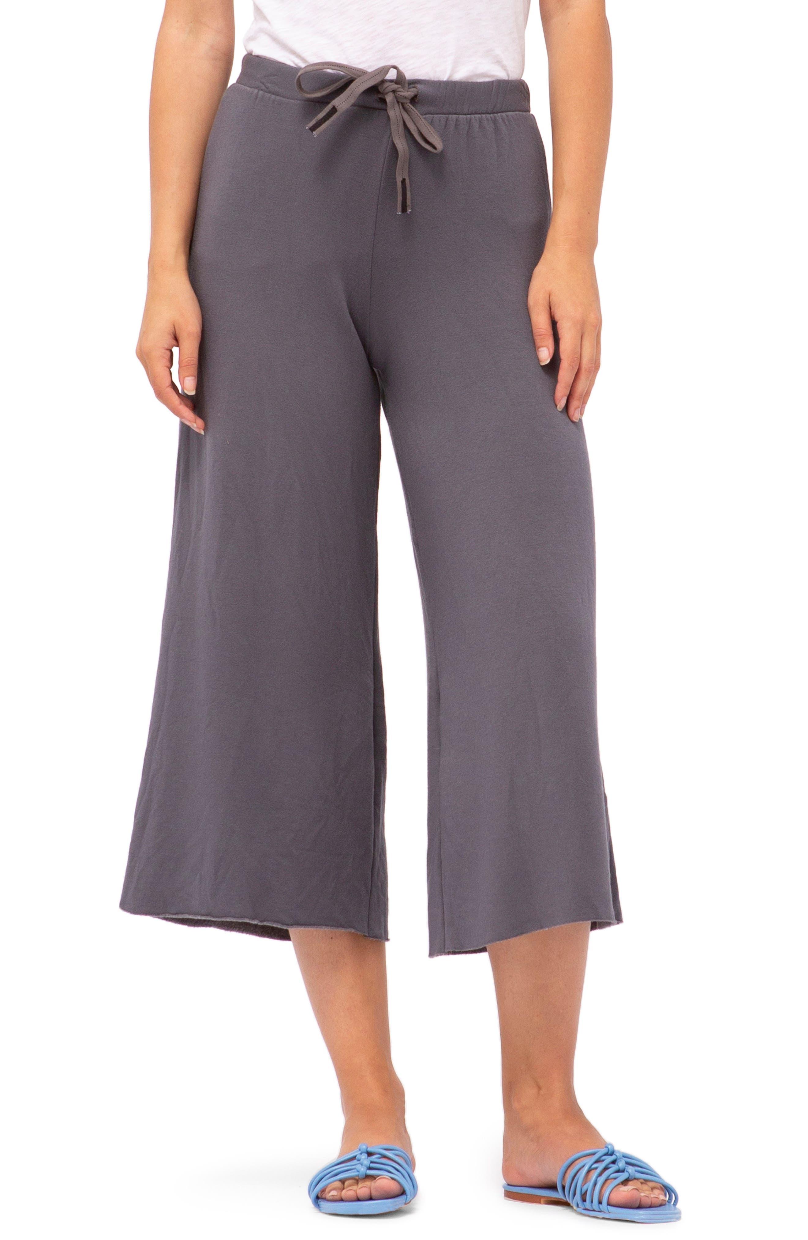 Stateside Crop Sweatpants, Grey