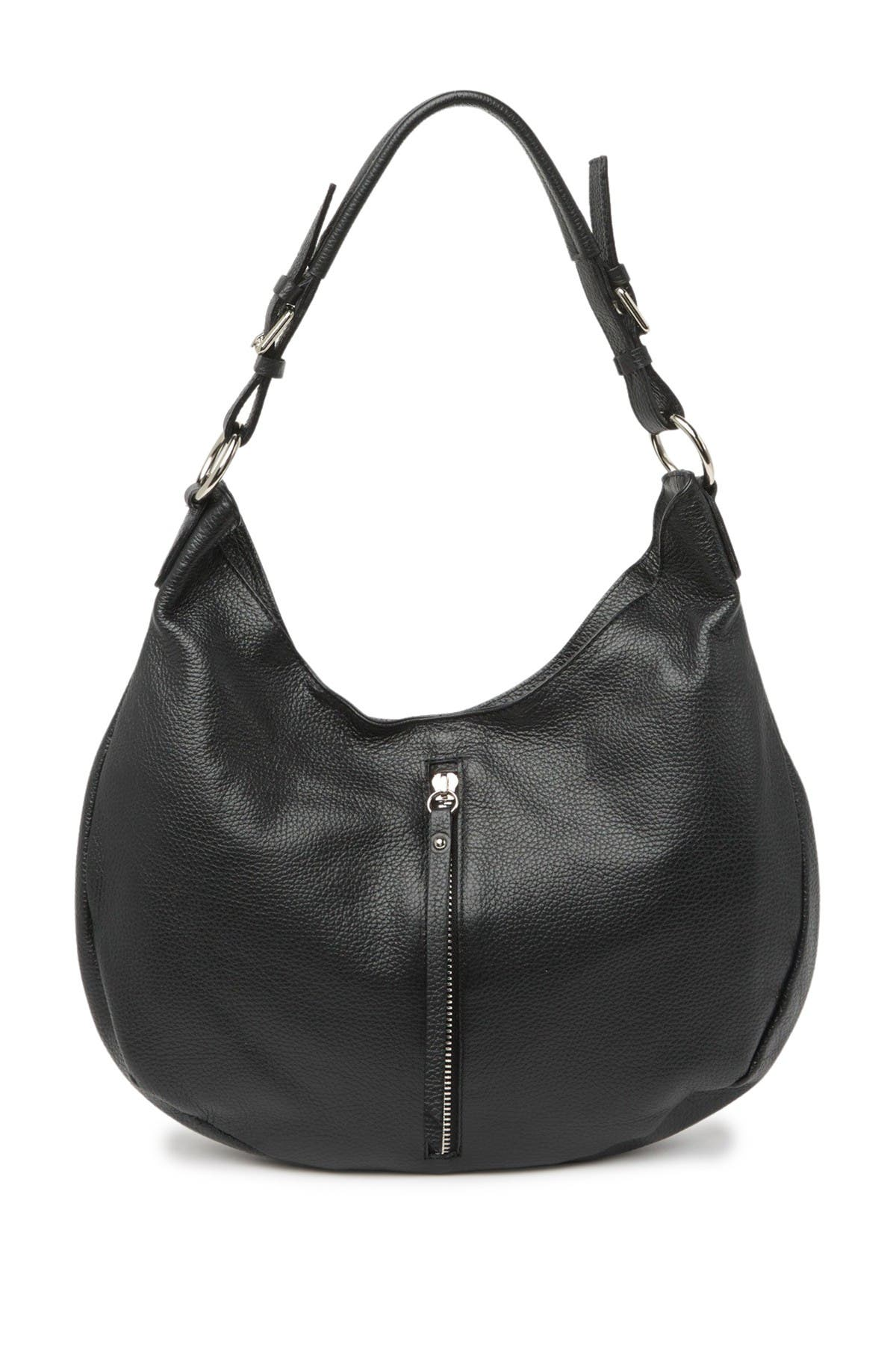 Image of Roberta M Front Zip Shoulder Bag