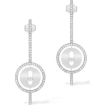 Messika Lucky Move Arrow Diamond Drop Earrings