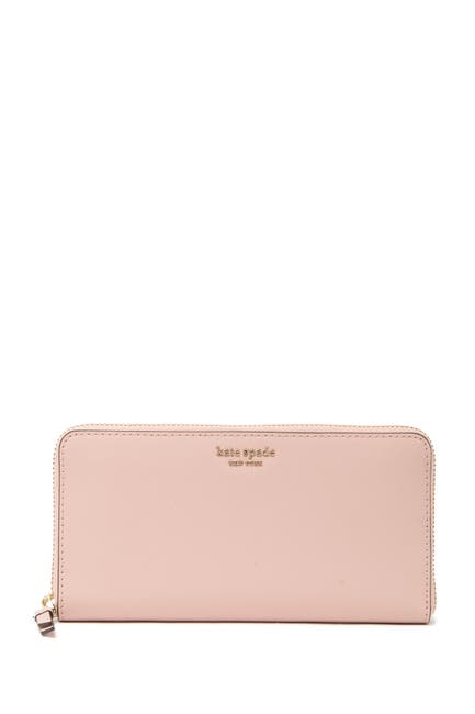 Image of kate spade new york cameron large leather continental wallet
