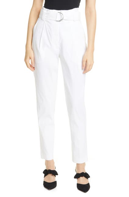 Image of A.L.C. Diego High Belted Waist Crop Pants