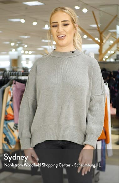 Ruched Mock Neck Sweater, sales video thumbnail