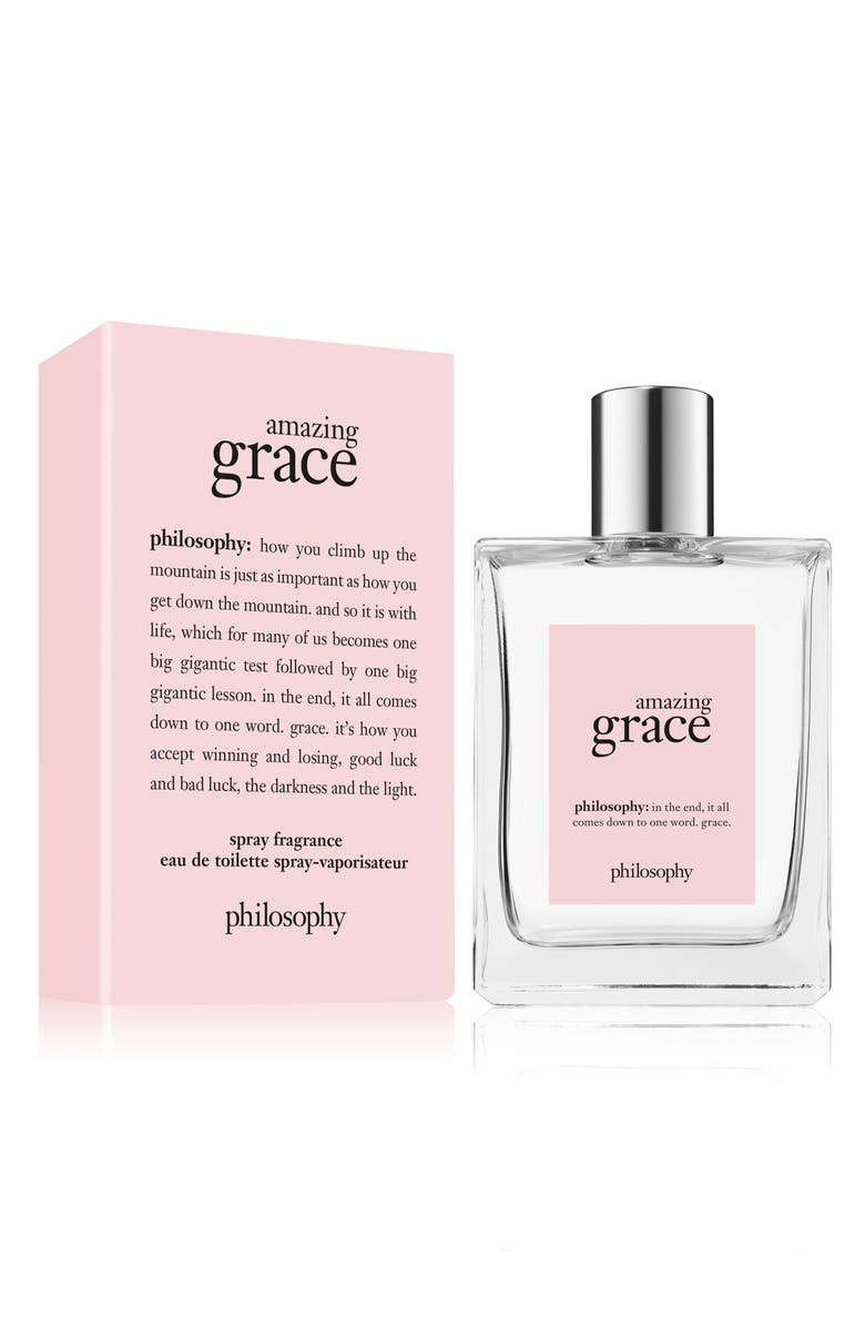PHILOSOPHY 'amazing grace' eau de toilette spray, Main, color, NO COLOR