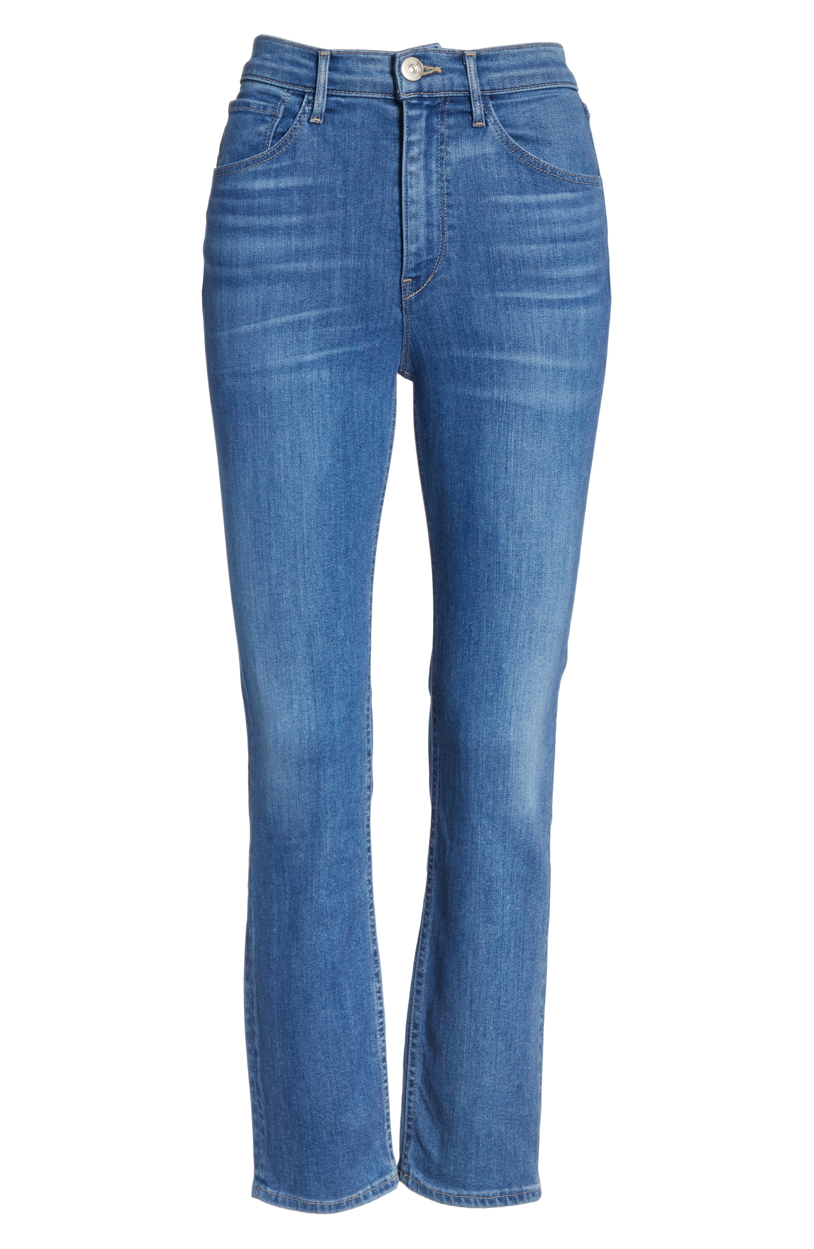 ,                             W4 Colette Crop Skinny Jeans,                             Alternate thumbnail 7, color,                             MILLY